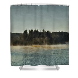 Early Morning Shower Curtain by Priska Wettstein