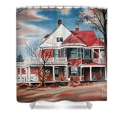 Edgar Home Shower Curtain by Kip DeVore