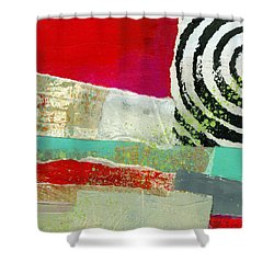 Edge 49 Shower Curtain by Jane Davies