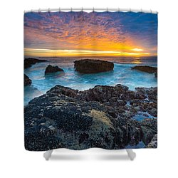 Edge Of America II Shower Curtain by Robert Bynum