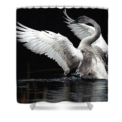 Elegance In Motion 2 Shower Curtain by Sharon Talson