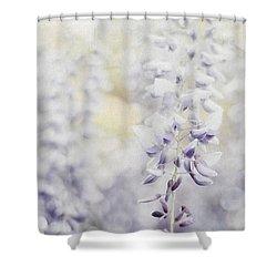 Elegant Wisteria Shower Curtain by Darren Fisher