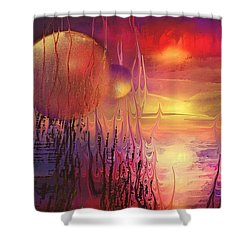 Elvenia Shower Curtain by Francoise Dugourd-Caput