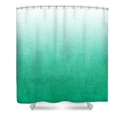 Emerald Bay Shower Curtain by Linda Woods