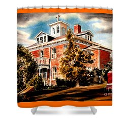 Emerson House Shower Curtain by Kip DeVore