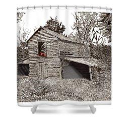 Empty Old Barn Shower Curtain by Jack Pumphrey