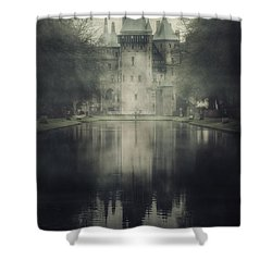 Enchanted Castle Shower Curtain by Joana Kruse