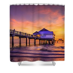 End Of The Day Shower Curtain by Marvin Spates