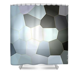 Energy Within - Abstract Art Shower Curtain by Carol Groenen