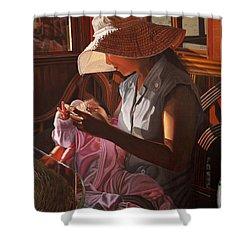 Enfamil At Ha Long Bay Vietnam Shower Curtain by Thu Nguyen