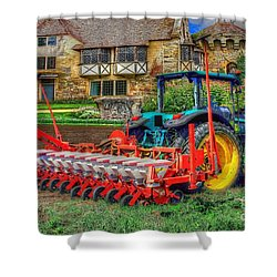 English Countryside Shower Curtain by L Wright