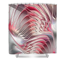 Enigma Shower Curtain by Anastasiya Malakhova