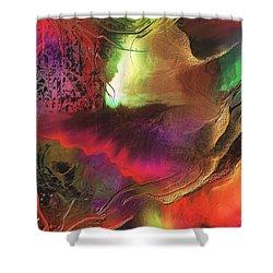 Enseveli Shower Curtain by Francoise Dugourd-Caput