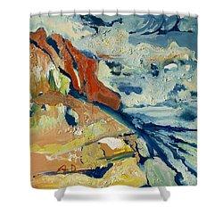 Entertainment Shower Curtain by Joseph Demaree