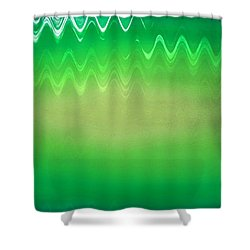 Envy Shower Curtain by Anita Lewis