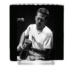 Eric Clapton 003 Shower Curtain by Timothy Bischoff