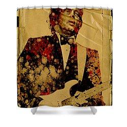 Eric Clapton 2 Shower Curtain by Bekim Art