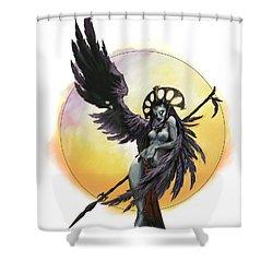 Eryine Shower Curtain by Matt Kedzierski