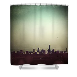 Escaping The City Shower Curtain by Trish Mistric