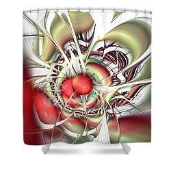 Eternal Battle Shower Curtain by Anastasiya Malakhova
