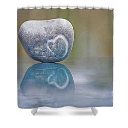 Eternal Imprint Shower Curtain by Maria Ismanah Schulze-Vorberg