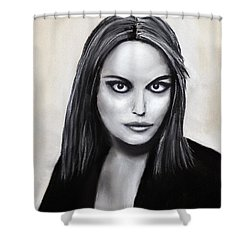Euryale Shower Curtain by Anastasiya Malakhova