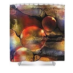 Evanescence Shower Curtain by Francoise Dugourd-Caput