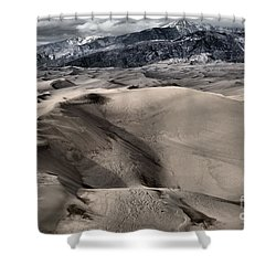 Evening At The Dunes Shower Curtain by Adam Jewell