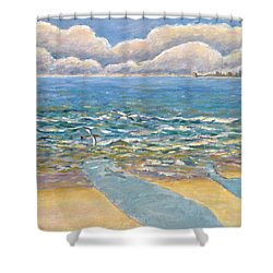 Evening North Myrtle Beach Shower Curtain by Patricia Eyre
