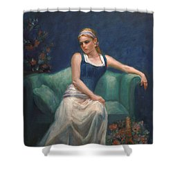 Evening Repose Shower Curtain by Sarah Parks