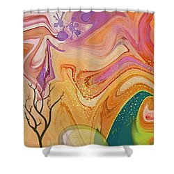 Everlasting Shower Curtain by Peggy Gabrielson