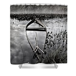 Everything Has Its Time Shower Curtain by Jorge Maia