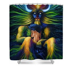 Evolution Shower Curtain by Kd Neeley