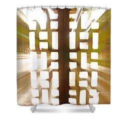 Exit Doors Shower Curtain by Stuart Litoff