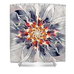 Exquisite Shower Curtain by Anastasiya Malakhova