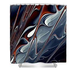 Extinguish Shower Curtain by Kevin Trow