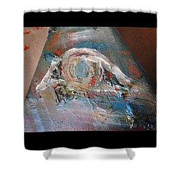Eye Shower Curtain by Marianna Mills