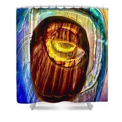 Eye Of Zeus Shower Curtain by Omaste Witkowski
