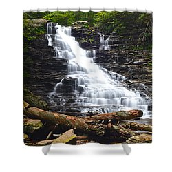 F L Ricketts Shower Curtain by Frozen in Time Fine Art Photography