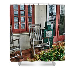 Fairhope Courier Shower Curtain by Michael Thomas
