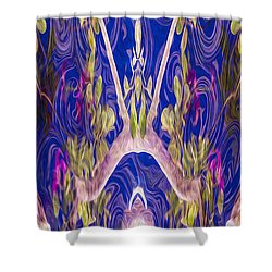 Fairies And Fantasies Shower Curtain by Omaste Witkowski