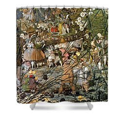 Fairy Fellers Master-stroke Shower Curtain by Photo Researchers