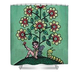 Fairy Series Katrina Shower Curtain by Victoria De Almeida