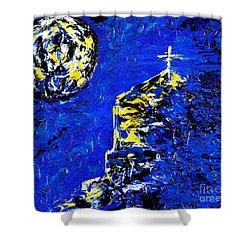 Faith Shower Curtain by Alys Caviness-Gober