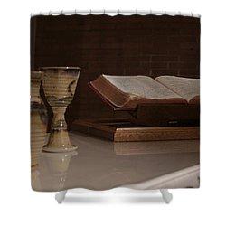 Faith Shower Curtain by Shoal Hollingsworth