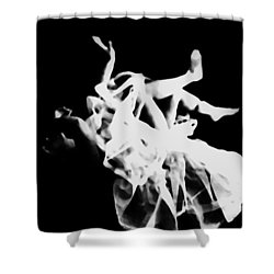 Fall Of Shame Shower Curtain by Jessica Shelton