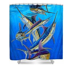 Fantasy Slam Shower Curtain by Terry Fox