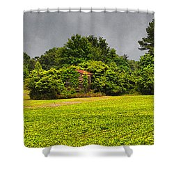 Farm Journal - Hidden History Shower Curtain by Paulette B Wright