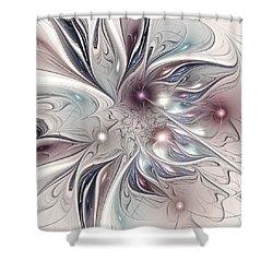 Farplane Shower Curtain by Anastasiya Malakhova