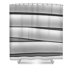 Faux Bamboo Shower Curtain by Sabrina L Ryan